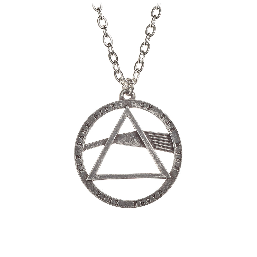 Alchemy Rocks Pink Floyd: Dark Side, prism Pendant from Gothic Spirit