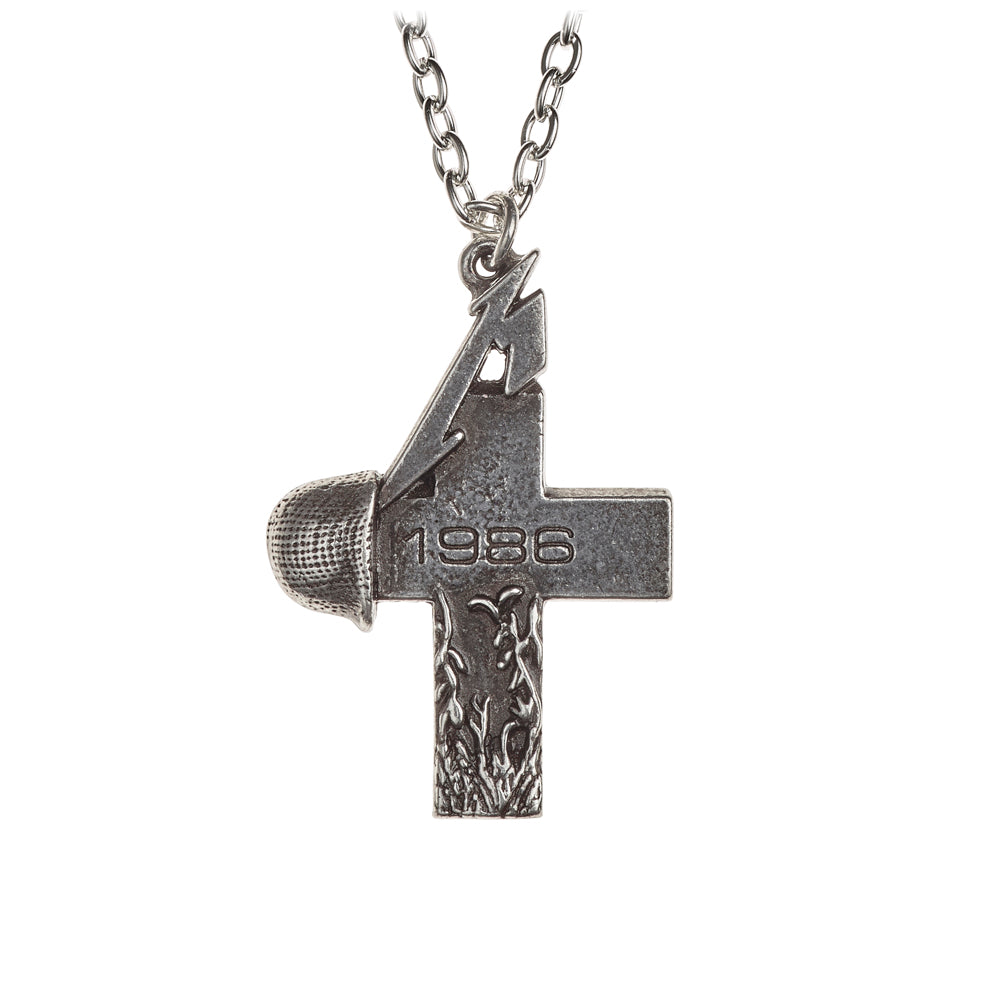 Alchemy Rocks Metallica: Master of Puppets, 1986 cross Pendant from Gothic Spirit