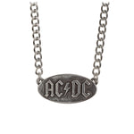 Alchemy Rocks AC/DC: logo tag Pendant from Gothic Spirit