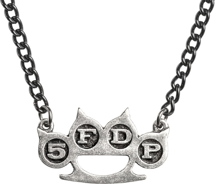 Alchemy Rocks 5FDP Knuckle Duster Pendant - Gothic Spirit
