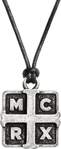 Alchemy Rocks My Chemical Romance Cross Pendant - Gothic Spirit