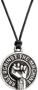 Alchemy Rocks Rage Against The Machine Fist Pendant - Gothic Spirit