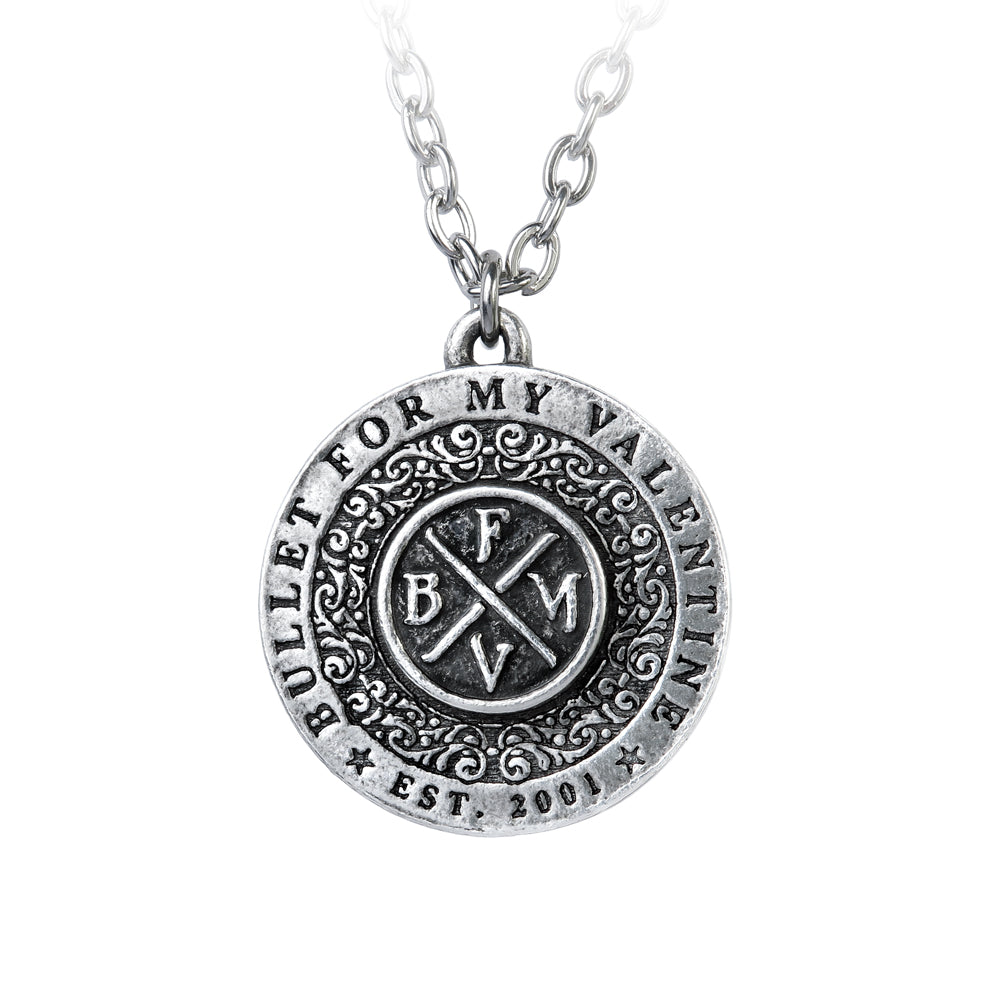Alchemy Rocks Bullet for my Valentine: Disc Pendant
