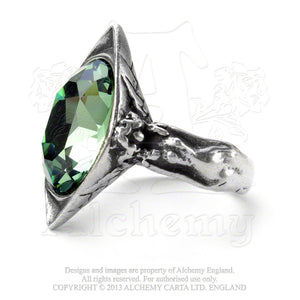 Alchemy Gothic Absinthe Fairy Spirit Crystal Ring from Gothic Spirit