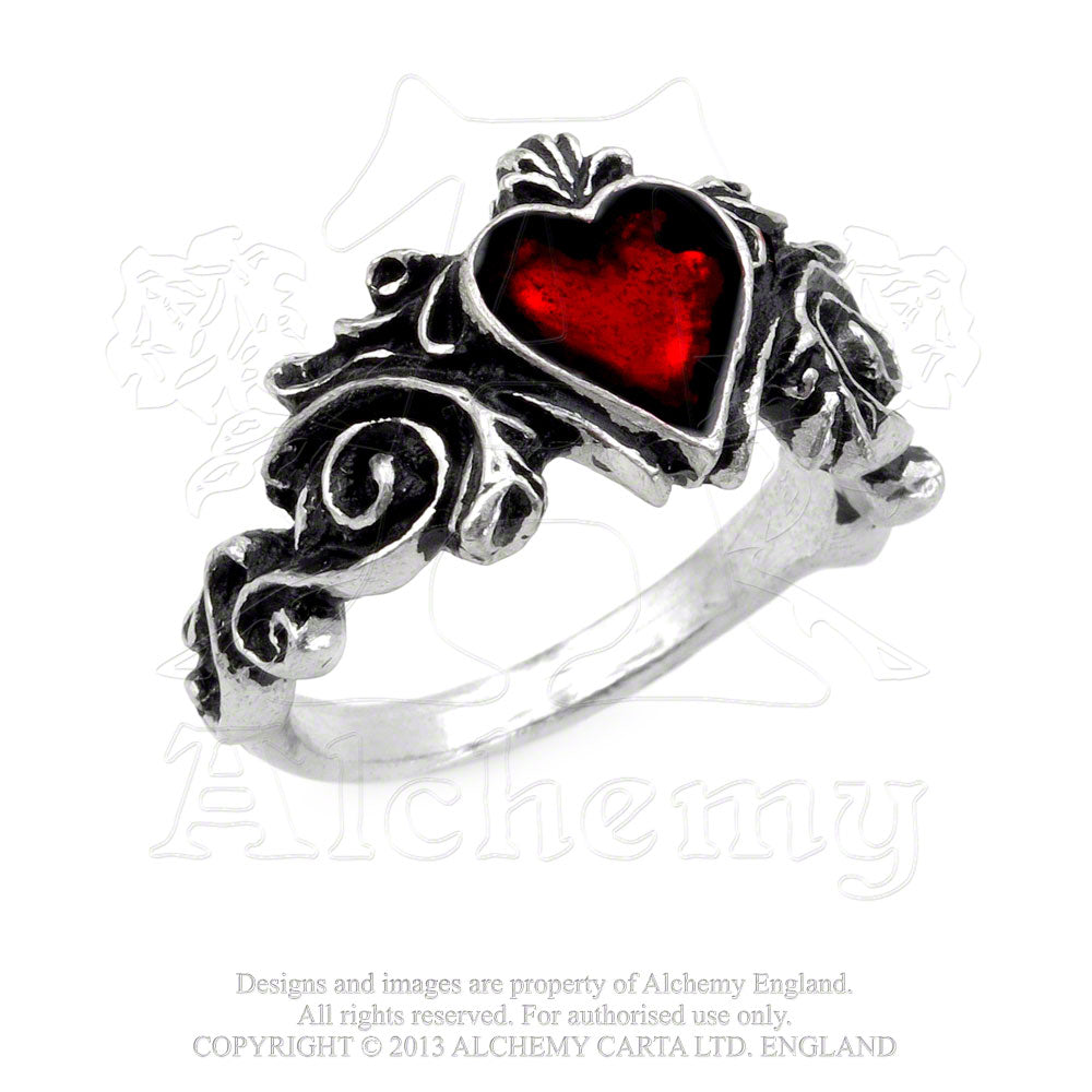 Alchemy Gothic Betrothal Ring - Gothic Spirit