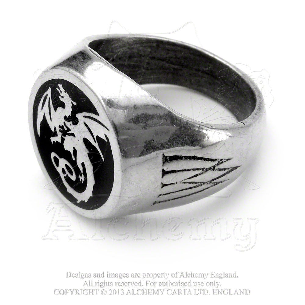 Alchemy Gothic Wyverex Dragon Ring from Gothic Spirit