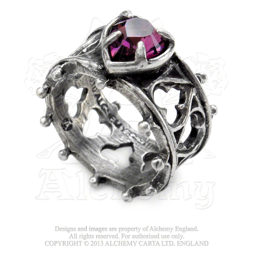 Alchemy Gothic Elizabethan Ring from Gothic Spirit