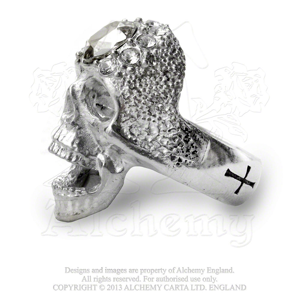 Alchemy Gothic Victoria's Glad-Rocks Ring - Gothic Spirit