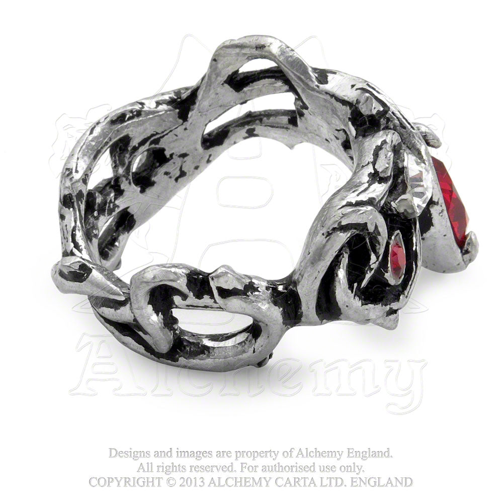 Alchemy Gothic Passion Ring - Gothic Spirit