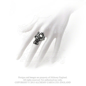Alchemy Gothic Asphyxia Ring from Gothic Spirit