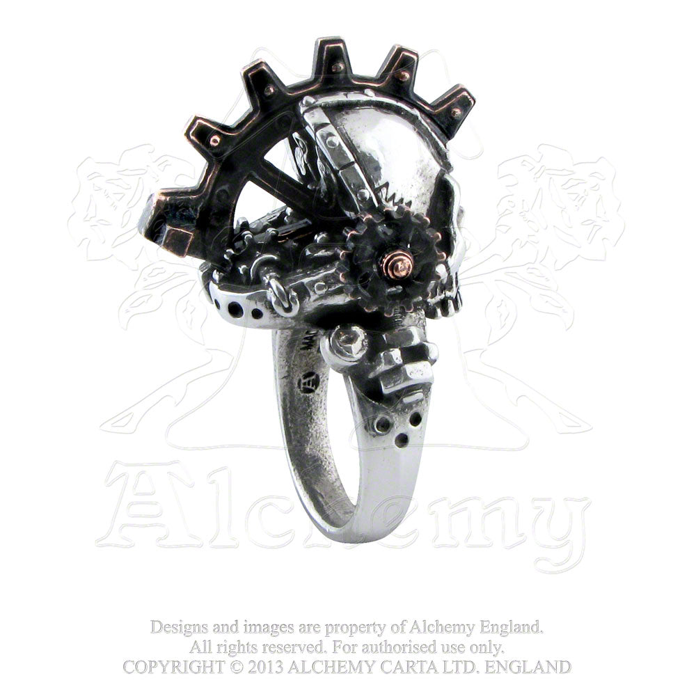 Alchemy Gothic Steamhead Ring - Gothic Spirit