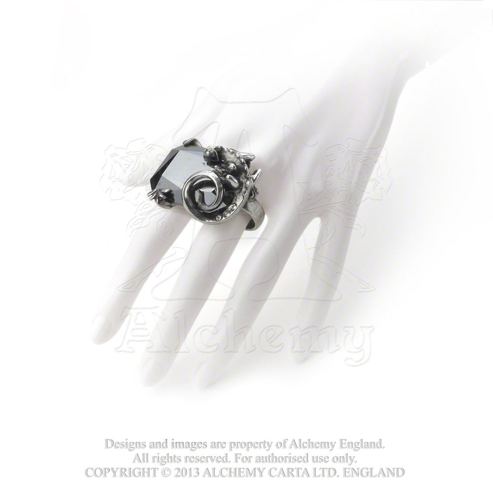Alchemy Gothic The Philosopher's Stone Ring from Gothic Spirit
