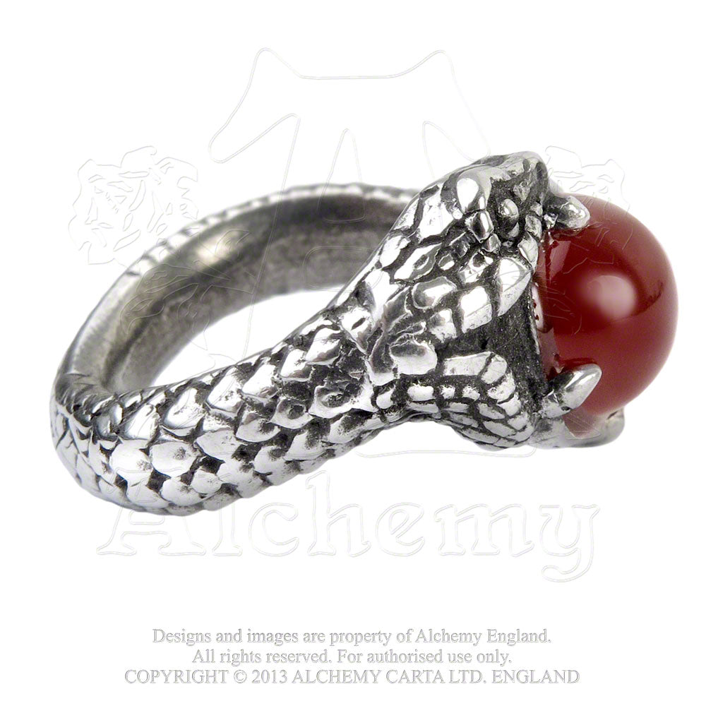 Alchemy Gothic Viperstone Ring from Gothic Spirit