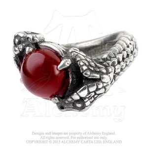 Alchemy Gothic Viperstone Ring - Gothic Spirit