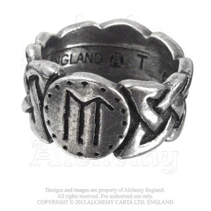 Alchemy Gothic Viking Virility Runering Ring from Gothic Spirit