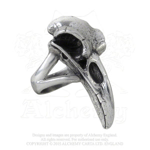 Alchemy Gothic Rabeschadel Ring - Gothic Spirit