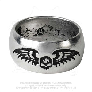 Alchemy Gothic Desolation Ring from Gothic Spirit