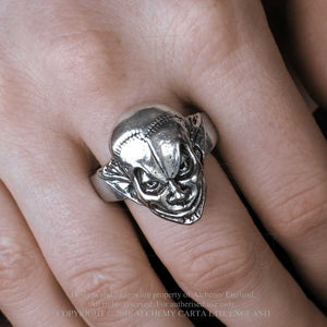 Alchemy Gothic M'era Luna Evil Clown Ring - Gothic Spirit