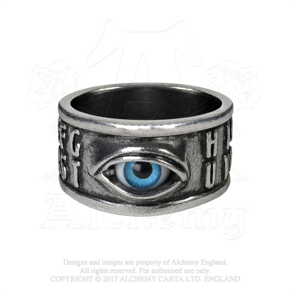 Alchemy Gothic Ouija Eye Ring - Gothic Spirit