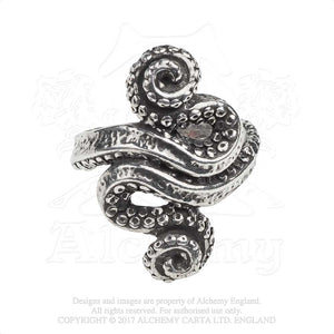 Alchemy Gothic Kraken Ring from Gothic Spirit