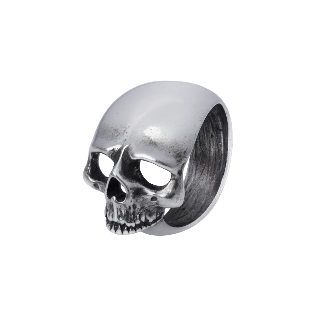 Alchemy Gothic Schadel Schief Ring from Gothic Spirit