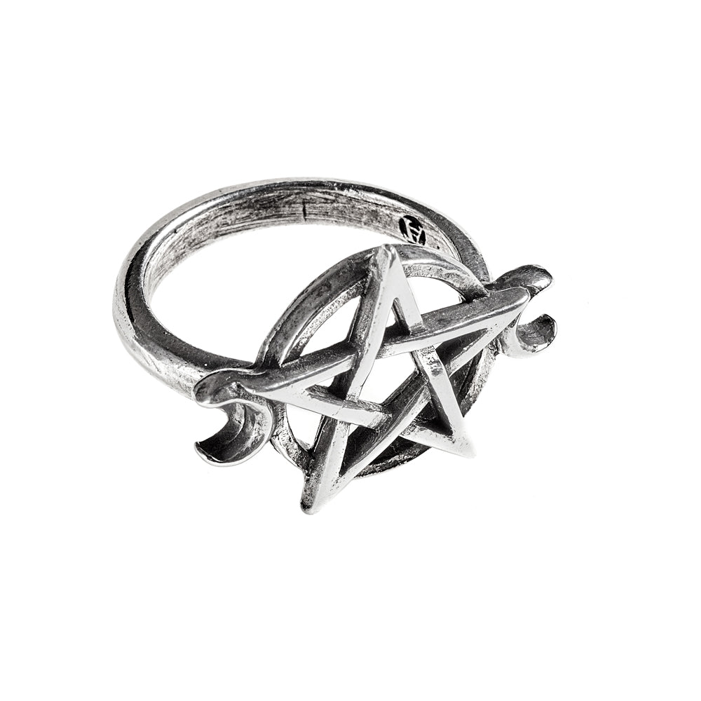 Alchemy Gothic Goddess Ring from Gothic Spirit