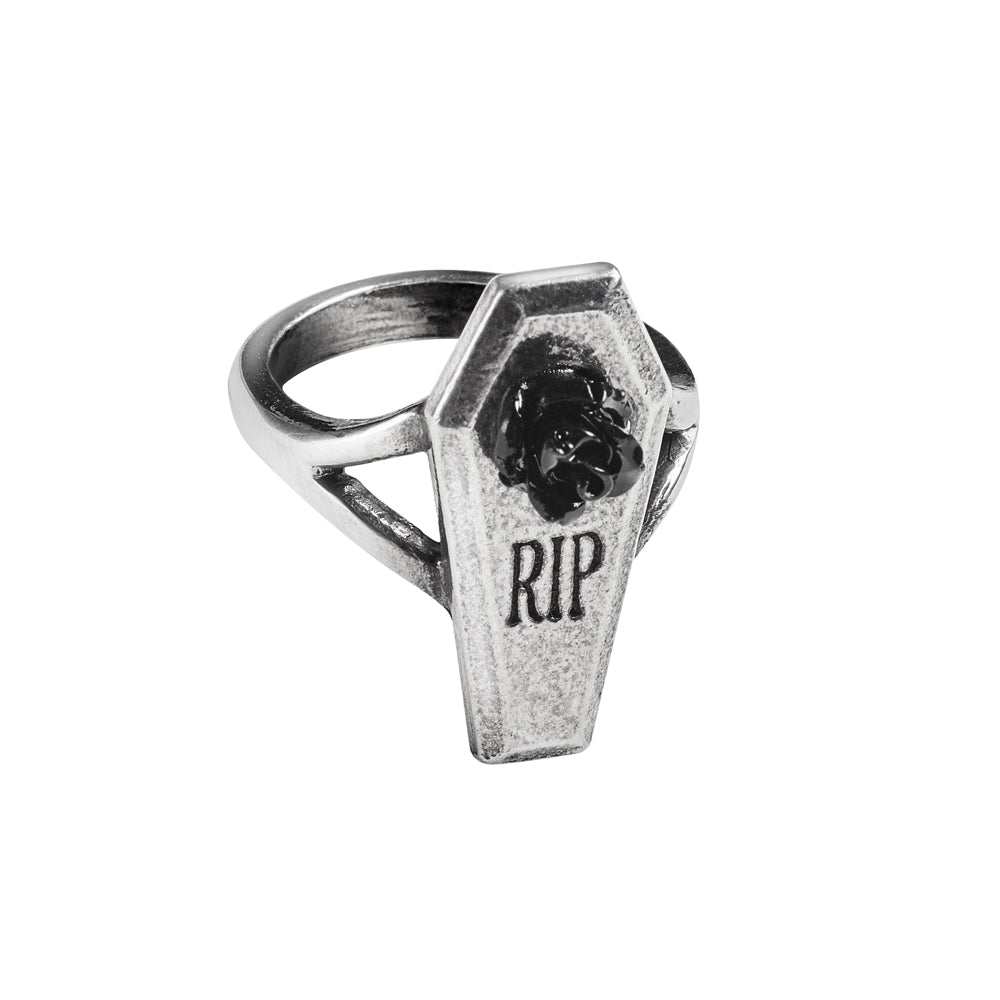 Alchemy Gothic RIP Rose Ring