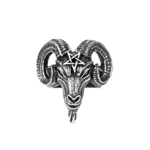 Alchemy Gothic Baphomet Ring from Gothic Spirit