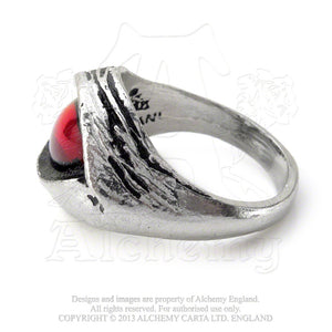 Alchemy Gothic Eye Of The Devil Ring - Gothic Spirit