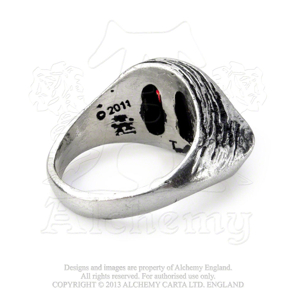 Alchemy Gothic Eye Of The Devil Ring from Gothic Spirit