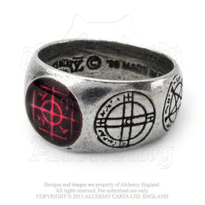 Alchemy Gothic Agla Ring from Gothic Spirit