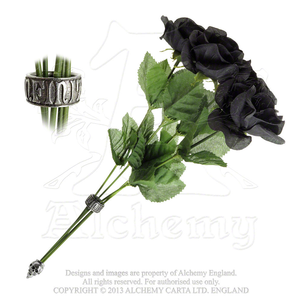 Alchemy Gothic Bouquet Of Rose - Gothic Spirit