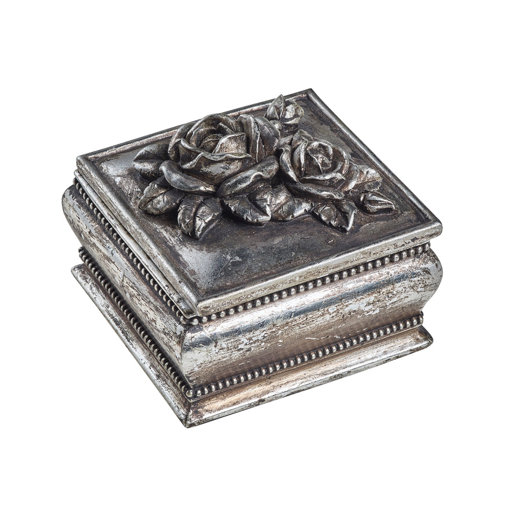 Shades Of Alchemy Antique Rose Trinket Box
