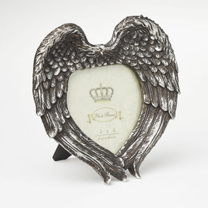Shades Of Alchemy Winged Heart Photo Frame - Gothic Spirit