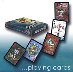Alchemy UL13 Full Colour Artwork Playing Cards from Gothic Spirit