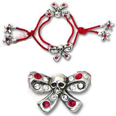Alchemy UL17 Bow Belles Bracelet from Gothic Spirit