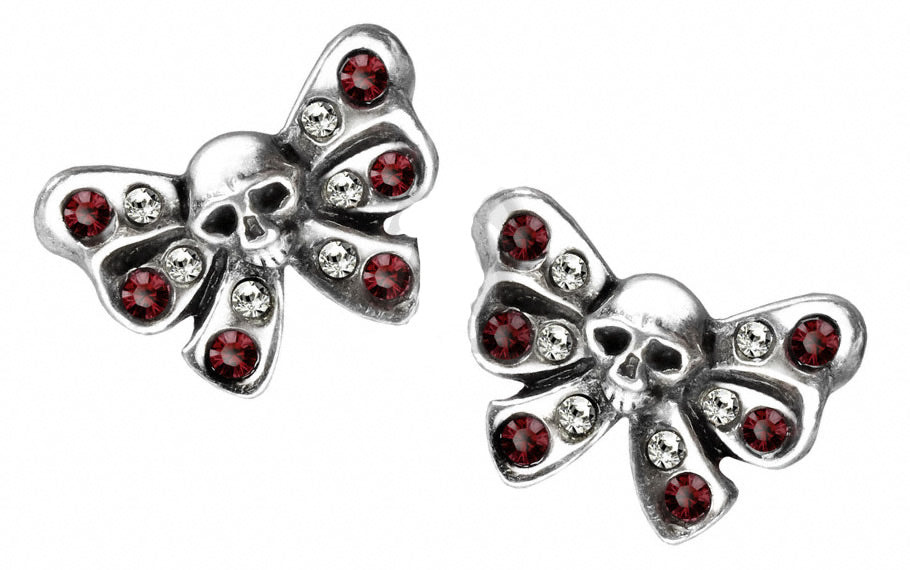 Alchemy UL17 Bow Belles Pair of Earrings - Gothic Spirit