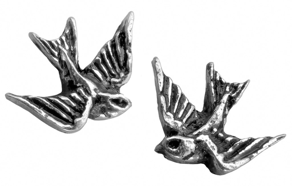 Alchemy UL17 Swallow Pair of Earrings - Gothic Spirit