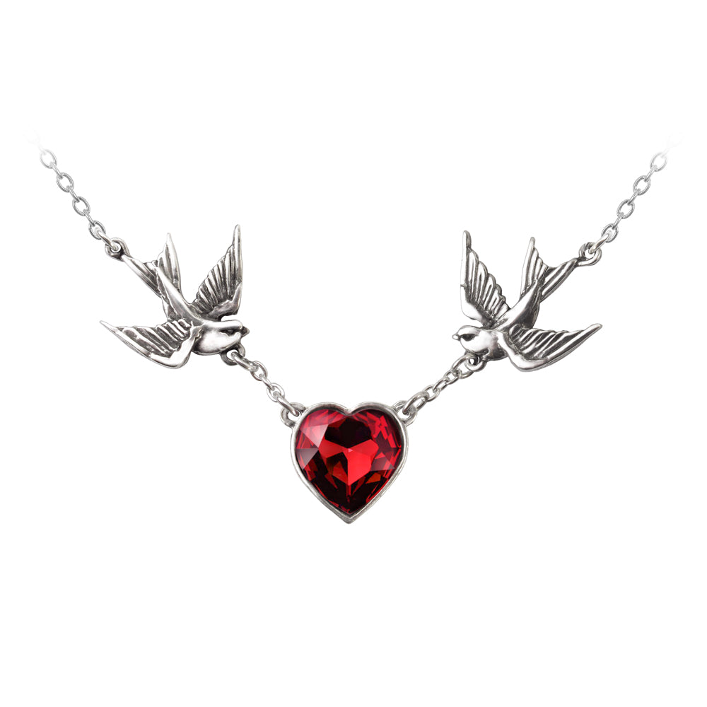 Alchemy UL17 Swallow Heart Pendant - Gothic Spirit