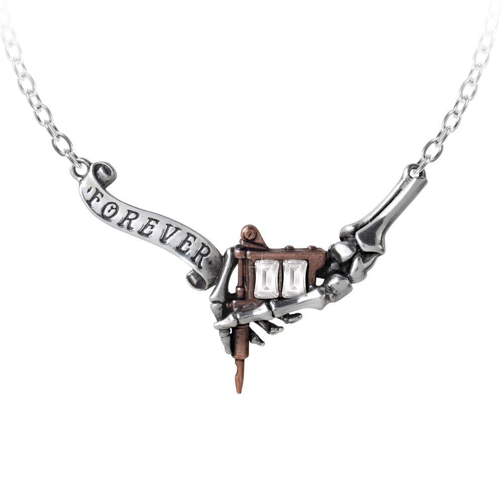 Alchemy UL17 Forever Inked Necklace from Gothic Spirit