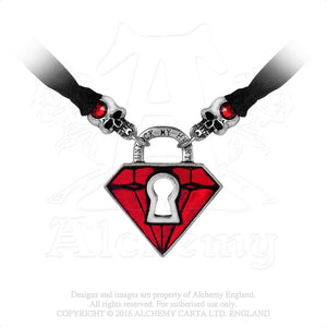 Alchemy UL17 Unlock My Heart Pendant from Gothic Spirit