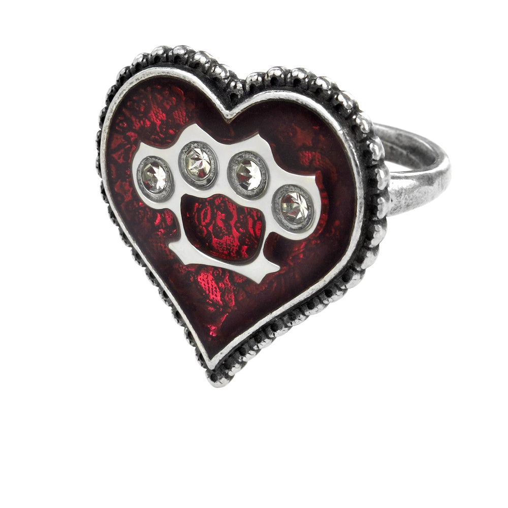 Alchemy UL17 Tough Love Ring from Gothic Spirit