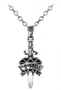Alchemy UL13 Loyal Diamond Pendant - Gothic Spirit