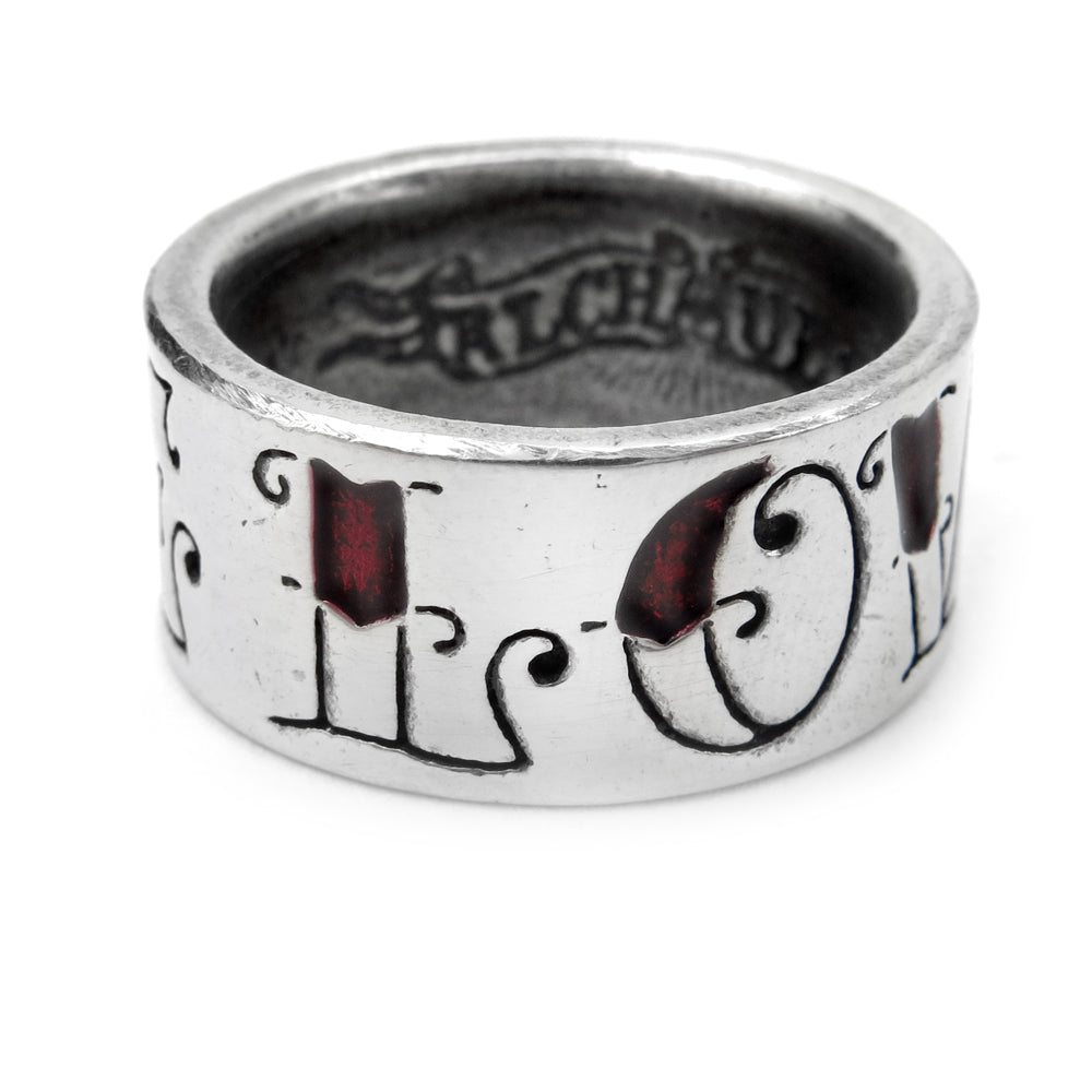 Alchemy UL13 Love/Hate Ring - Gothic Spirit