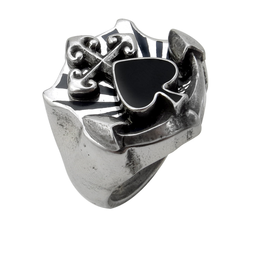 Alchemy UL13 Anchors Aweigh Ring - Gothic Spirit