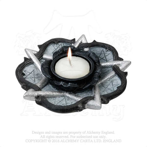 Alchemy - The Vault Rose Of Otrolanus T-Light Holder from Gothic Spirit
