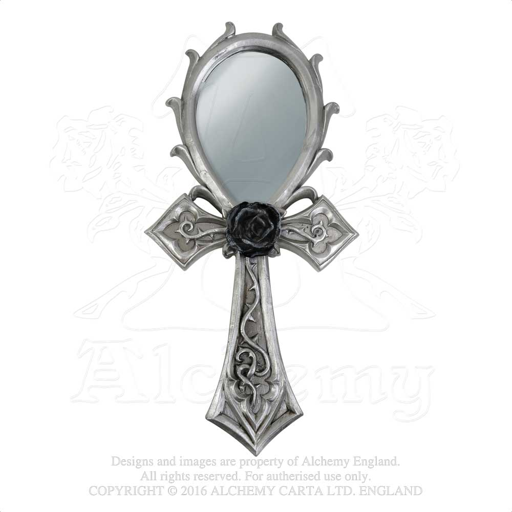 Alchemy - The Vault Gothic Ankh Hand Mirror from Gothic Spirit