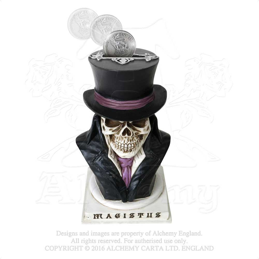 Alchemy - The Vault Count Magistus Money Box from Gothic Spirit