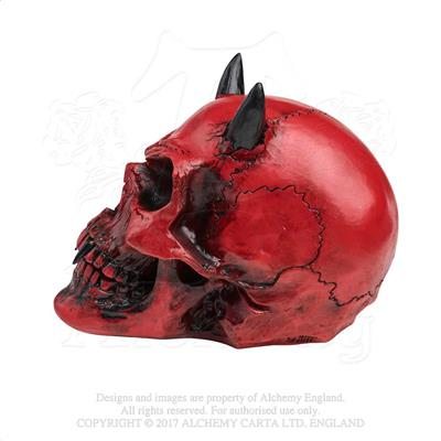Alchemy - The Vault Crimson Demon Skull from Gothic Spirit