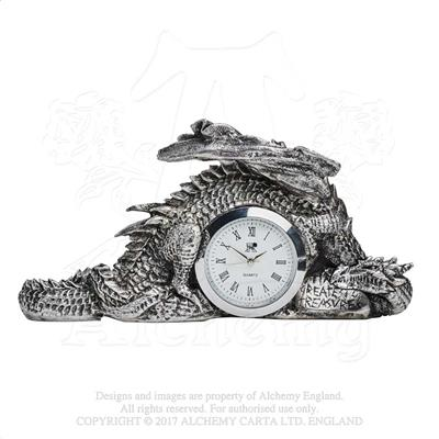 Alchemy - The Vault Dragonlore Clock - Gothic Spirit
